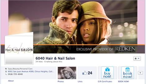 6040 Hair & Nail Salon Facebook