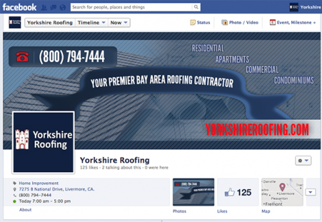 Yorkshire Roofing Facebook